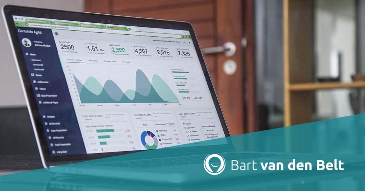 cijfers ondernemer, google analytics